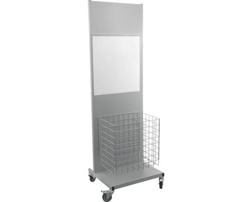 Hygienestation Premium Grundstand 156 cm inkl. Abfallbehälter