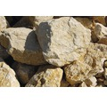 Fertiggabione 100 x 50 x 100 cm gefüllt mit Gabionensteinen Giallo Mori 70-120 mm