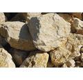 Fertiggabione 100 x 25 x 50 cm gefüllt mit Gabionensteinen Giallo Mori 70-120 mm