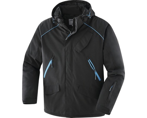 TX Workwear Winterjacke Gr. 3XL schwarz/azur