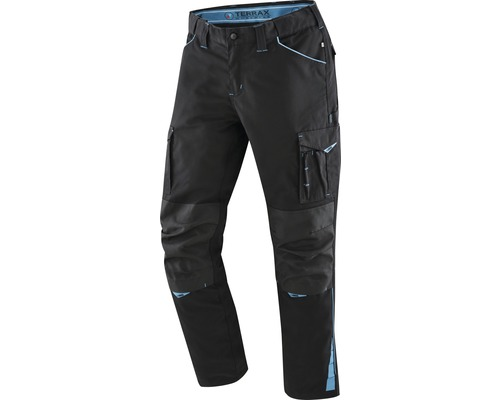 TX Workwear Bundhose Gr. 54 schwarz/azur