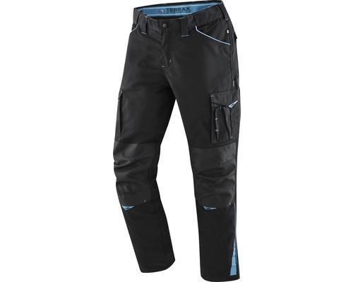 TX Workwear Bundhose Gr. 56 schwarz/azur
