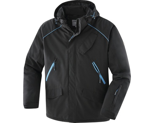 TX Workwear Winterjacke Gr. M schwarz/azur