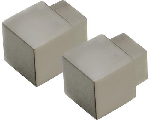 Außenecke Squareline Dural Alu Titan 11 mm hochglanz