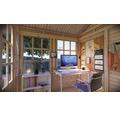 Gartenhaus Bertilo She Shed Teahouse mit Fußboden 234 x 226 cm natur