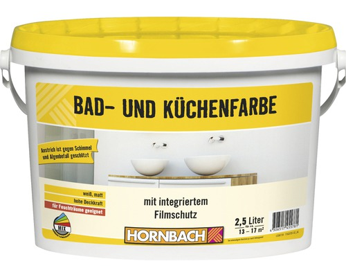 Ho Bad Und Kuchenfarbe Weiss 10 L Bei Hornbach Kaufen