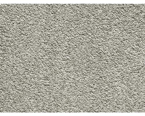Teppichboden Kräuselvelours Romantica mittelgrau 400 cm breit (Meterware)