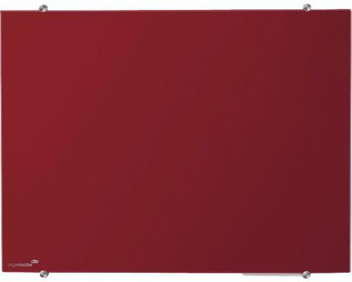 Glasboard Colour 90x120 cm rot