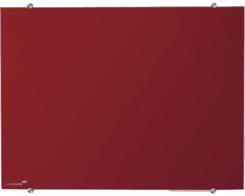 Glasboard Colour 100x150 cm rot