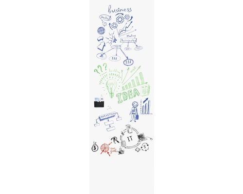 Whiteboard Wall-up hochkant 200x60 cm