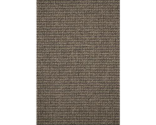 Teppichboden Schlinge Tulsa schlamm 500 cm breit (Meterware)