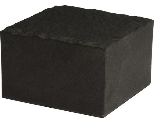 Pflasterstein Quadratpflaster Feinsteinzeug schwarz 10 x 10 x 6,5 cm
