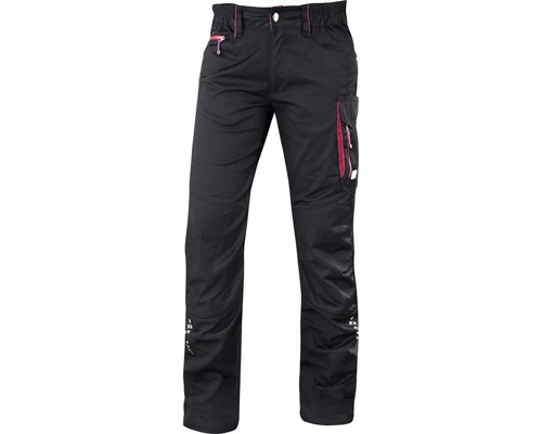 Bundhose ARDON Damen Gr. 38 schwarz/rosa