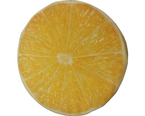 Sitzkissen Velvet Lemon Ø 40 cm