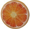 Sitzkissen Velvet Orange Ø 40 cm