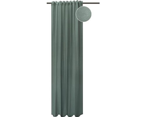 Vorhang mit Universalband Blackout grau 135x280 cm