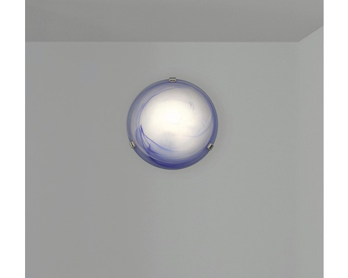 Deckenleuchte 1-flammig Ø 300 mm Mauritius blau