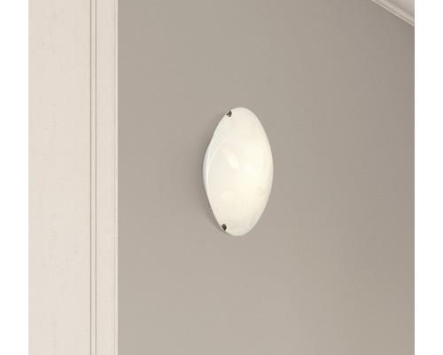LED Deckenleuchte 9W 806 lm 2700 K warmweiß Ø 250 mm Melania weiß mit Dekor