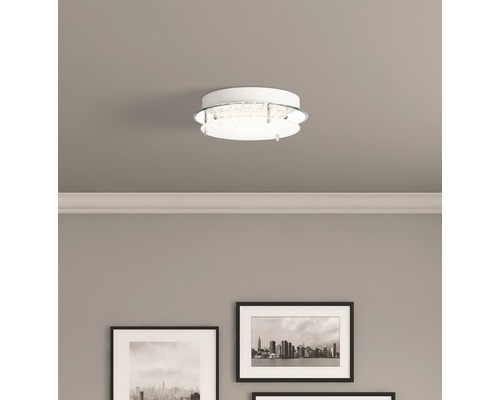 LED Deckenleuchte 10W 1200 lm 4000 K neutralweiß Jolene transparent Ø 280 mm