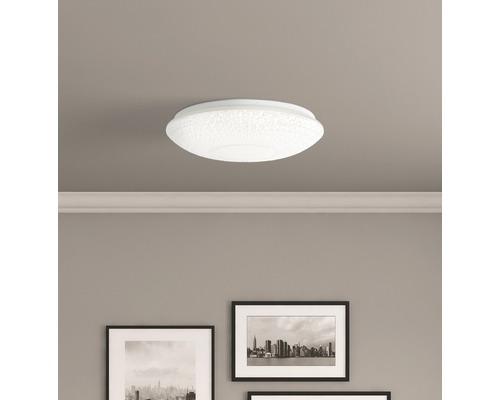 LED Deckenleuchte dimmbar CCT 60W 4800 lm 3000-6000 K warmweiß-tageslichtweiß Nunya weiß HxØ 120/520 mm mit Fernbedienung + Nachtlicht