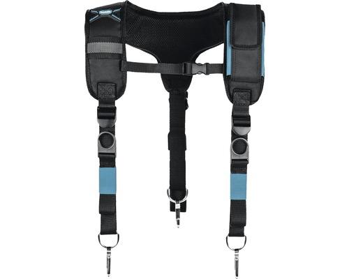 Hosenträger gepolstert Makita schwarz/blau, 520x23x410 mm