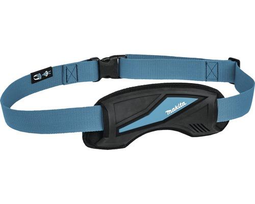 Schnellverschluss- Schulterhüftgurt Makita blau/schwarz, 1.300x38 mm