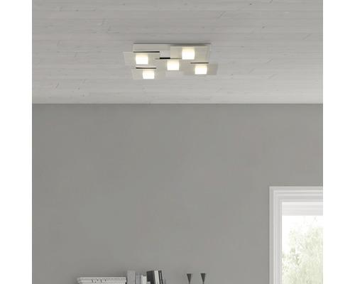 LED Deckenleuchte 5x4,5W 2255 lm 3000 K warmweiß Numbers eisen/weiß HxL 47/406 mm