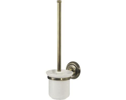 WC-Bürstengarnitur Deco messing antik