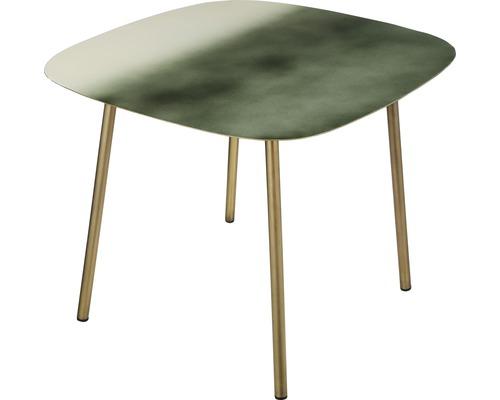 Beistelltisch Mica Amon 52,5 x 52,5 x 42 cm grün