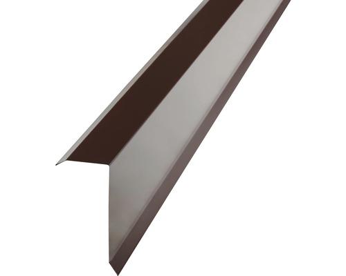 PRECIT Kantenwinkel für Trapezbleche H12 chocolate brown RAL 8017 2 m
