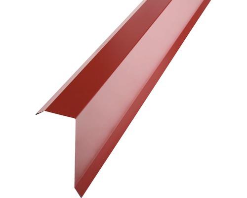 PRECIT Kantenwinkel für Trapezblech H12 brown red RAL 3011 1000 x 40 x 100 mm