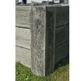 Beton Hochbeet Big Antik geweißt mit vormontiertem Gewinde 220 x 120 x 69 cm