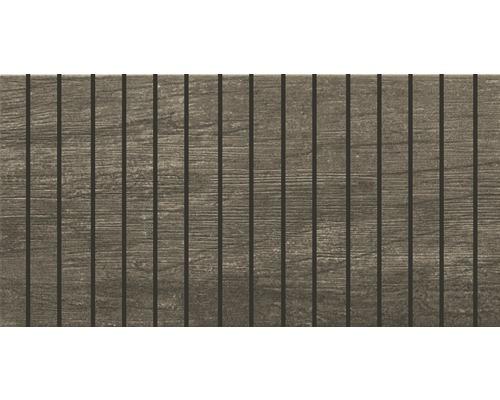 Bordüre Arbor Grau 15x30 cm