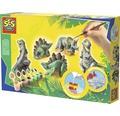 Gipsfiguren Dinos