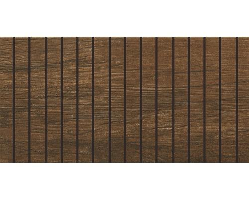 Bordüre Arbor Braun 15x30 cm