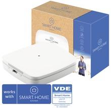 SMART HOME by hornbach Starter Set Luftgüte inkl. Gateway und Eurotronic Luftgütesensor, C02-, VOC-, Temperatur & Luftfeuchte- (Taupunkt) Sensor