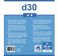 Abdeckplane D30 transparent 4x5m 2er-Set