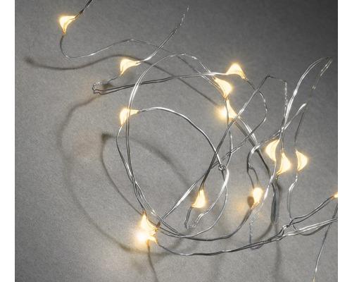 Lichterkette Konstsmide Lichtfarbe bernsteinfarben 20er Micro LEDs