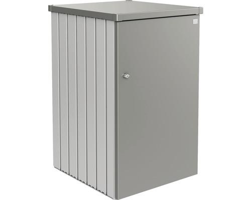 Mülltonnenbox biohort Alex Variante 1.2 80 x 88 x 129 cm silber-quarzgrau