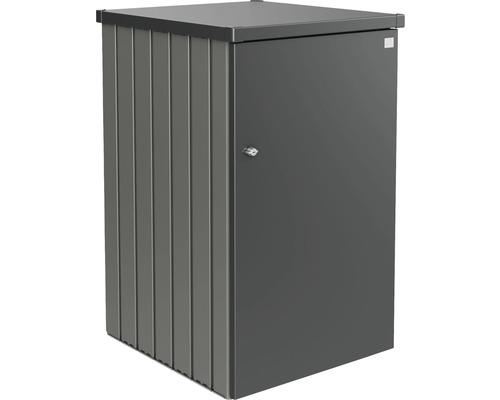 Mülltonnenbox biohort Alex Variante 2.3 80 x 88 x 129 cm quarzgrau-dunkelgrau