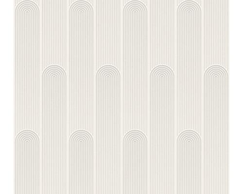 Vliestapete 37678-1 New Life Grafik weiß grau