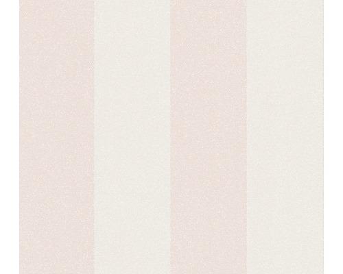 Vliestapete 37554-2 New Elegance Blockstreifen rosa