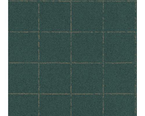 Vliestapete 37551-1 New Elegance Fliese grün