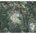 Vliestapete 37652-1 History of Art Dschungel grün