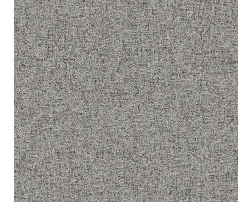 Vliestapete 37548-5 New Elegance Uni silber grau