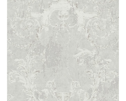 Vliestapete 37653-1 History of Art Ornament grau