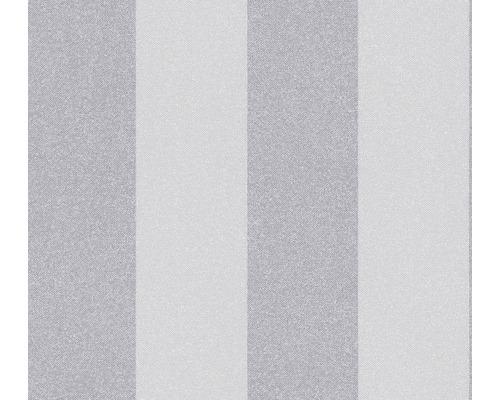 Vliestapete 37554-4 New Elegance Streifen hellgrau