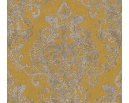 Vliestapete 37681-2 New Life Ornamente gelb grau