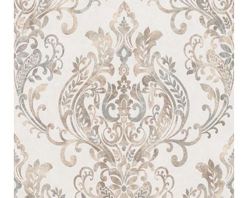 Vliestapete 37681-1 New Life Ornament beige grau