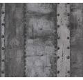 Vliestapete 37743-4 Industrial rostmetall grün